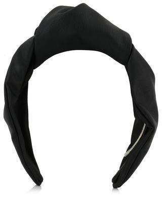 Eco-leather knot headband MARZOLINE MILANO
