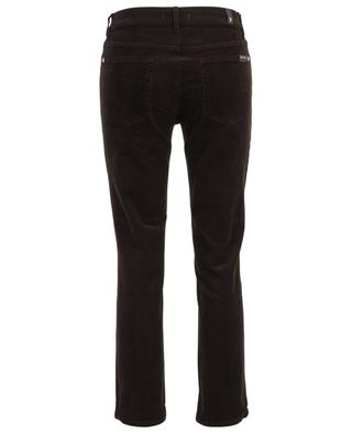 The Straight Crop Baum fine rib corduroy trousers 7 FOR ALL MANKIND