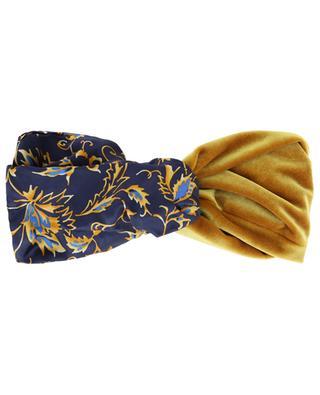 Bandeau bi-matière fleuri Chamonix Gold MARZOLINE MILANO