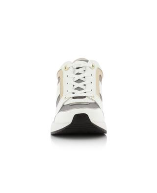 Wedge heel leather sneakers KURT GEIGER LONDON