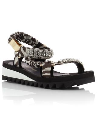 Orion cristal adorned sandals KURT GEIGER LONDON