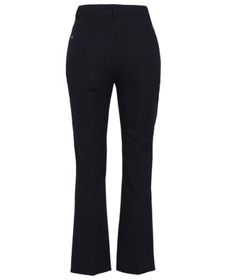 Comma straight fit gabardine trousers SPORTMAX