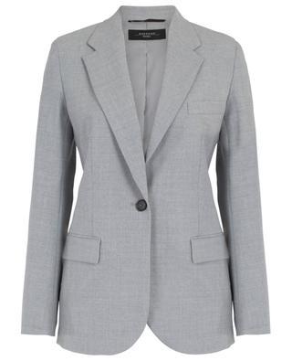 Taillierter Blazer aus Wollstretch Sequoia WEEKEND MAXMARA