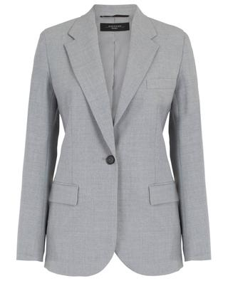 Taillierter Blazer aus Wollstretch Sequoia WEEKEND MAXMARA