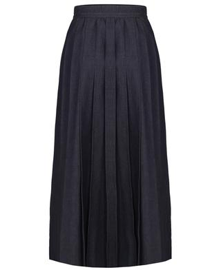 Nettare denim pleated midi skirt WEEKEND MAXMARA