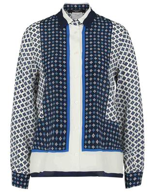 Micio loose silk shirt with shawl print WEEKEND MAXMARA