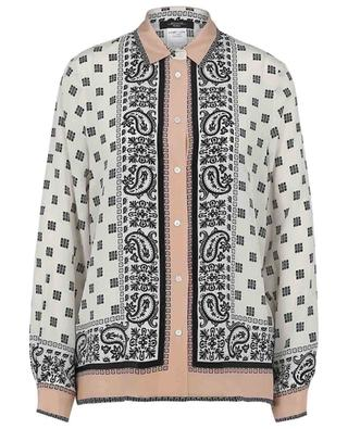 Seidenhemd mit Schalprint Nome WEEKEND MAXMARA