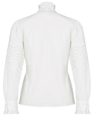 Nocino openwork embroidery adorned poplin blouse WEEKEND MAXMARA