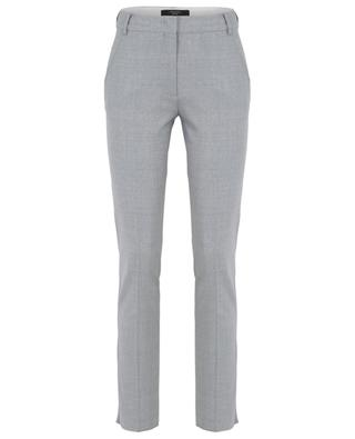 Zigarettenhose aus Wollstretch FITW13 Fazio WEEKEND MAXMARA