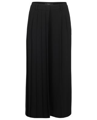 Pegaso culottes with pleat detail WEEKEND MAXMARA