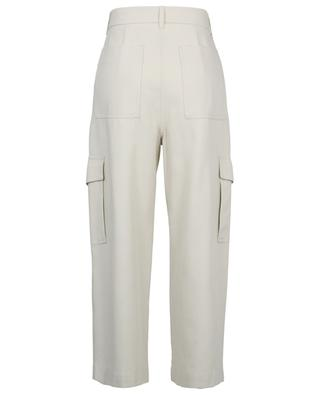 King cotton and lyocell wide-leg cargo trousers WEEKEND MAXMARA