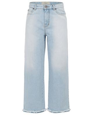 Manuela Mom Fit frayed wide leg jeans WEEKEND MAXMARA