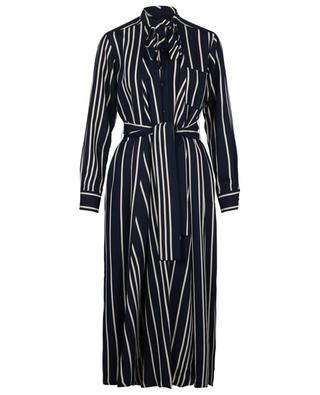 Party striped twill shirt dress WEEKEND MAXMARA