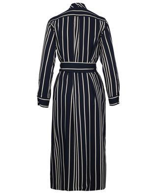 Party striped twill shirt dress WEEKEND MAXMARA
