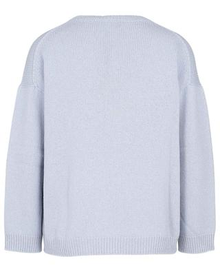 Zoraide wool, silk and cashmere round neck jumper WEEKEND MAXMARA