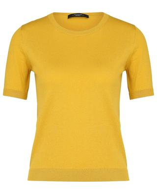 Volto silk and cotton short-sleeved jumper WEEKEND MAXMARA