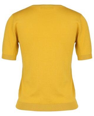 Volto silk and cotton short-sleeved jumper WEEKEND MAXMARA