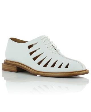 Raphale leather derbies with cut-outs CLERGERIE