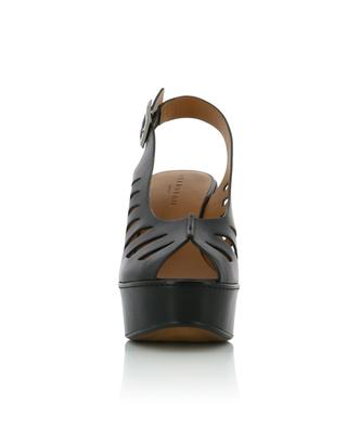 Diane leather wedge sandals CLERGERIE