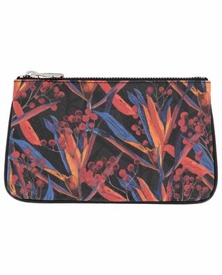 Lily Cradle Lily printed zippered pouch FONFIQUE