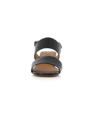 Sandales à talon en cuir d'agneau Leonie CLERGERIE