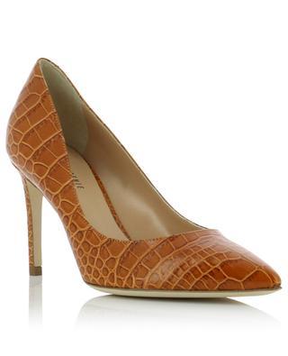 Kissa croc effect leather pumps BONGENIE GRIEDER