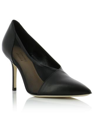Pointy toe pumps with net insert BONGENIE GRIEDER