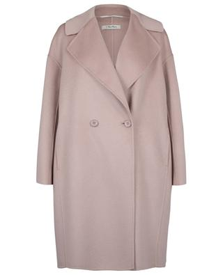 Savana short oversize coat in wool and cashmere 'S MAXMARA