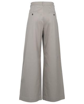 Crine gabardine wide-leg waistband tuck trousers 'S MAXMARA