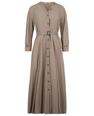 Panca trench coat spirit long flared dress 'S MAXMARA