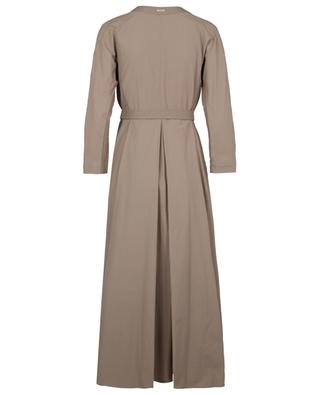 Panca trench coat spirit long flared dress 'S MAXMARA