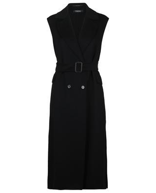 Levico sleeveless wool and angora coat 'S MAXMARA