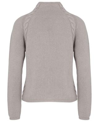 Narvel cashmere jumper with mock neck and cable knit details 'S MAXMARA