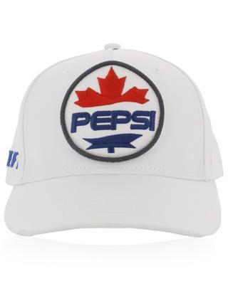 Casquette en coton avec effet usé et logo #D2XPEPSI DSQUARED2