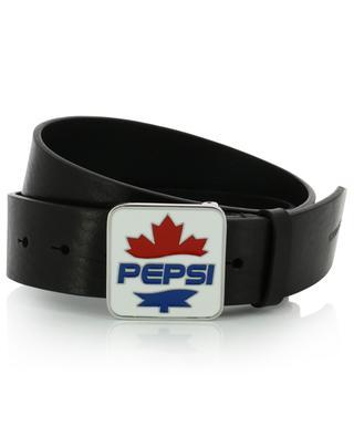 Gürtel aus Leder mit Schnalle und Logo #D2XPEPSI DSQUARED2