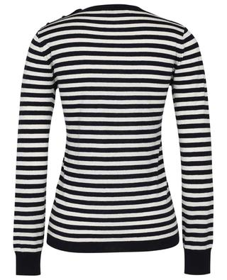 Caraibi striped thin silk and cashmere jumper MAX MARA