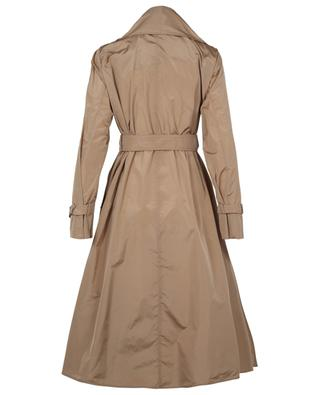 Campo open silk blend trench coat with shawl collar MAX MARA