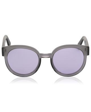 The Greta Foggy round acetate sunglasses VIU