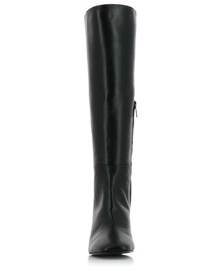 Heeled square-toe leather boots BONGENIE GRIEDER