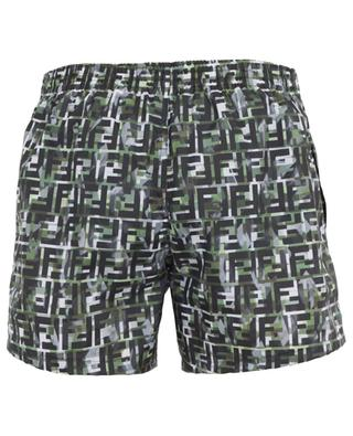 Logo print swim shorts FENDI