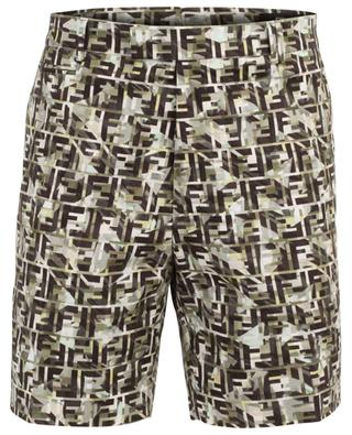 Cotton blend bermuda shorts FENDI