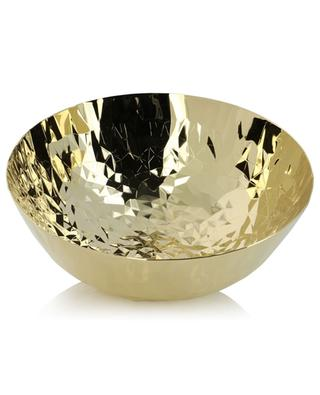 Joy n. 11 CR02/21GGD round golden steel basket ALESSI