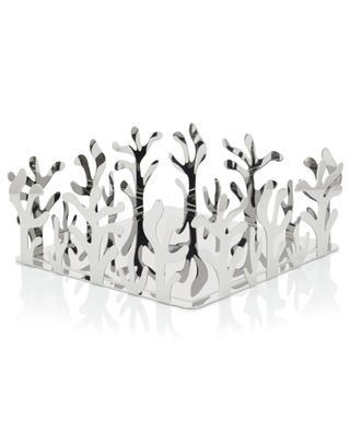 Mediterraneo stainless steel napkin holder ALESSI