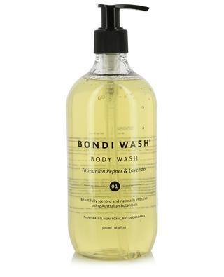 Tasmanian Pepper & Lavender body wash - 500 ml BONDI WASH