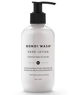 Tasmanian Pepper & Lavender hand cream BONDI WASH