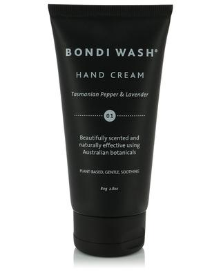 Tasmanian Pepper & Lavender parfumed hand cream BONDI WASH