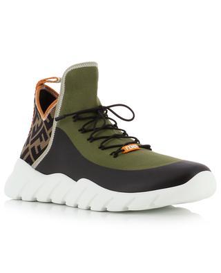 Hohe Socken-Sneakers mit FF-Detail FENDI