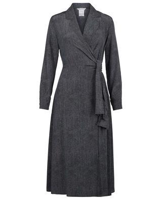 Ravel denim print wrap dress MAX MARA