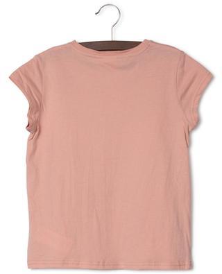 T-shirt en jersey brodé de chevrons en sequins AO76