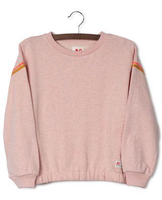 Sweat-shirt décontracté embelli de maille lurex Lulu AO76